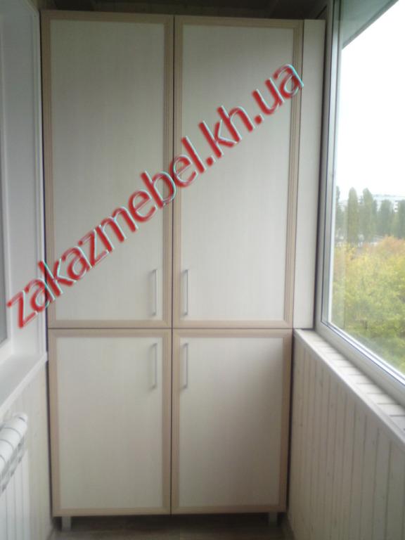 Изготовление шкафов на балкон в подольске..